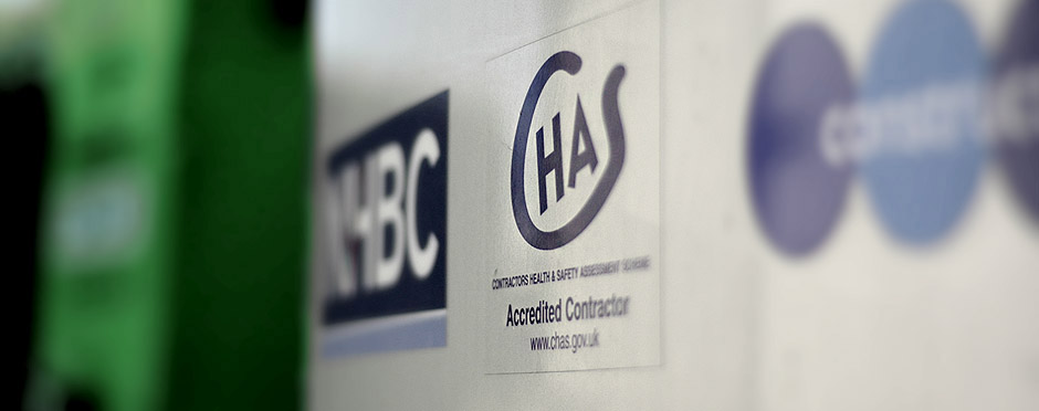 CHAS Accredited Contractor - CITB Approved - RIBA Award winner