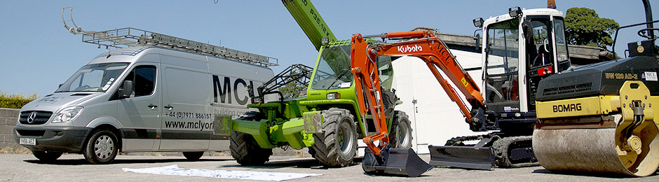 Plant hire in York, Leeds, Harrogate, Bradford, the midlands, London and the UK