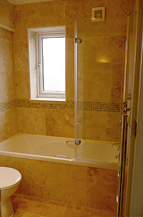 Bath, toilet and power shower installation Leeds, Manchester, York, UK